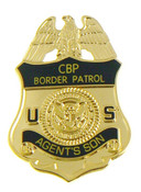 U.S. Border Patrol Agent's Son Mini Badge Refrigerator Magnet