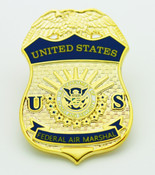 Federal Air Marshal Mini Badge refrigerator magnet