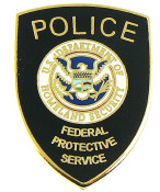 Federal Protective Service Mini Patch Refrigerator Magnet
