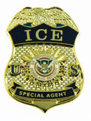 Immigration and Customs Enforcement Special Agent Mini Badge Magnet - 1.25""
