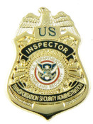 Transportation Security Administration Inspector Mini Badge Refrigerator Magnet