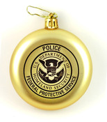 Federal Protective Service Police Christmas Tree Ornament