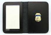 Federal Air Marshal Mini Badge Leather ID Wallet