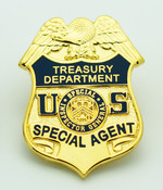 Department of Treasury Special Inspector General Special Agent Mini Badge Lapel Pin
