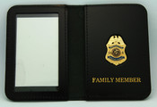 Immigration & Naturalization Service Special Agent Family Member ID Wallet