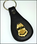 US Border Patrol Agent Badge Key Ring