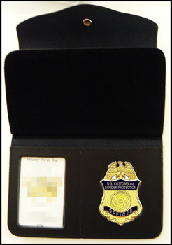 Customs and Border Protection Women s Badge and ID Wallet - Badge Holder 020c449b40