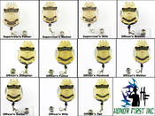 Customs and Border Protection Officers Family Mini Badge ID Holder Reels