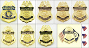 Customs and Border Protection Mini Badge Lapel Pins