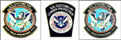 Customs and Border Protection Officer Mini Patches Lapel Pin
