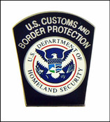 Customs and Border Protection Officer Mini Patch Magnet