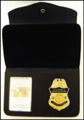 Air and Marine Operations Women's Badge and ID Wallet - Badge and ID View