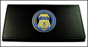 Immigration and Customs Enforcement Leather Check Book
