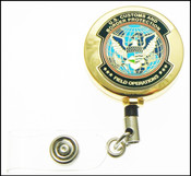 Customs and Border Protection OFO Mini Patch ID Reel