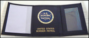 US Border Patrol Tri-Fold Wallet USBP Embossing