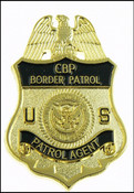 US Border Patrol Agent Mini Badge Magnet