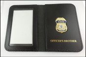 Department of Homeland Security Officer's Brother Mini Badge ID Card Case