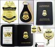 Customs and Border Protection Officer Mini Badge Merchandise Collection