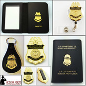Customs and Border Protection Canine Officer Mini Badge Merchandise Collection