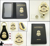 Transportation Security Administration Coordination Center Officer Mini Badge Merchandise