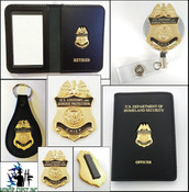 Customs and Border Protection Chief Mini Badge Merchandise