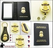 Customs and Border Protection Asst. Port Director Mini Badge Merchandise