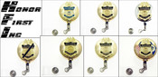 Gold Customs and Border Protection Mini Badge ID Reels