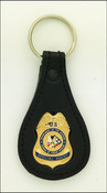 Bureau of Indian Affairs Special Agent Mini Badge Key Ring
