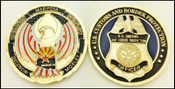 CBP Operation Over Flow Arizona Challenge Coin Both Sides