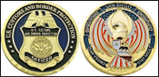 CBP Operation Over Flow San Diego, California Challenge Coin Both Sides