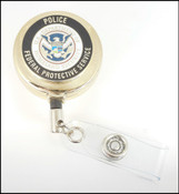 Federal Protective Service Seal Patch in Black