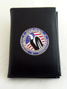 TSA - Transportation and Security Administration Team Spirit Credential Wallet or ID Wallet