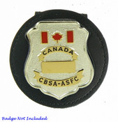 Canada Border Services Agency Clip-on Badge Holder