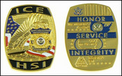 ICE Homeland Security Investigations Special Agent Challenge Coin