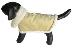 Dog Jacket - Sherpa Tan