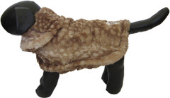 Dog Jacket - Faux Fur Fawn