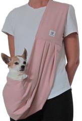 Dog Sling - Cotton Blush