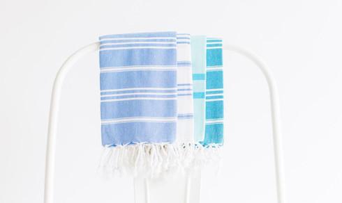 Turkish-T Basic Hand Towel Cotton Tassels