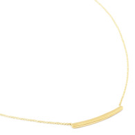 Anne Sportun Gold Bar Necklace