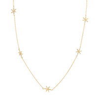 Scattered Star Necklace