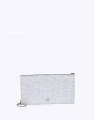 Silver Glitter Evening Bag