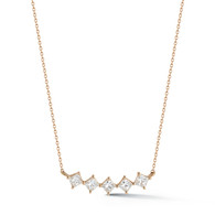 Dana Rebecca Diamond Bar Necklace