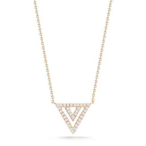 Dana Rebecca Diamond Triangle Necklace