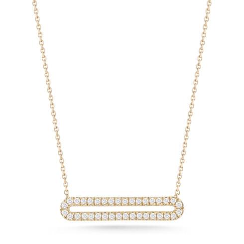 Dana Rebecca Diamond Bar Necklace