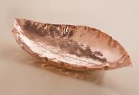 Copper Magnolia Leaf Bowl