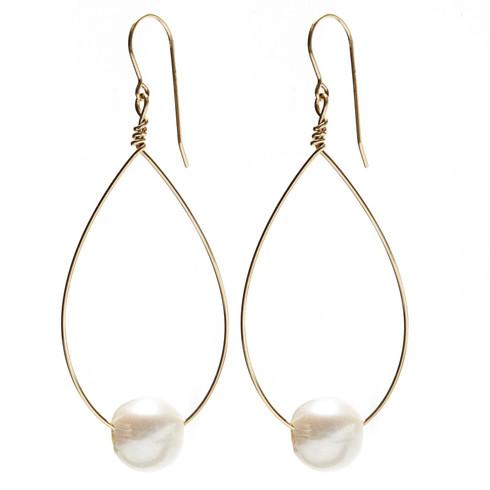 White Pearl, gold wire