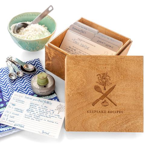 Recipe Keepsake Box