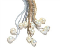 Crystal and Baroque Pearls