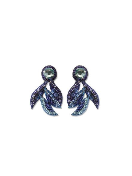 Sapphire Crystal Chandelier Earrings
