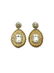 Champagne Stone Earrings